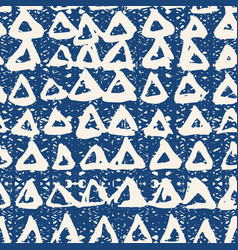 Triangle tie dye pattern vector