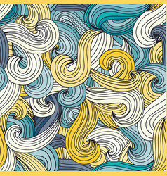 waves pattern vector image