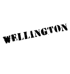 Wellington stamp rubber grunge vector image