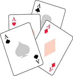 Ace Cards vector image