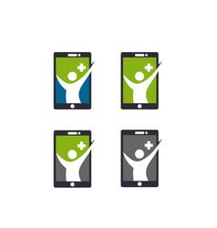 app health icon vector image