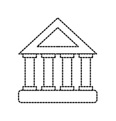 bank building investment financial concept vector image