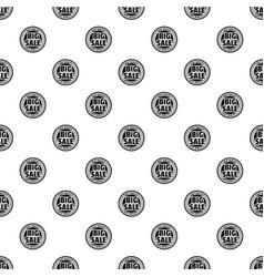 big sale pattern seamless vector image