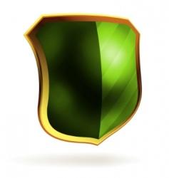 decorative shields vector image