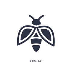 Firefly icon on white background simple element vector