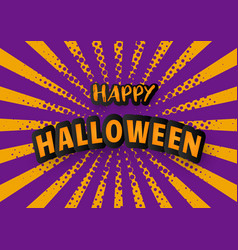 Halloween carnival background vector