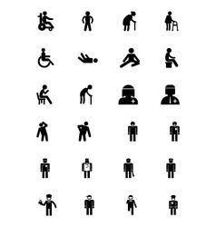 Human Icons 15 vector