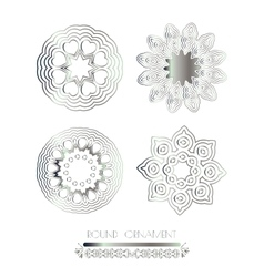 Luxury ornamental pattern vector image