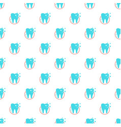 Molar pattern seamless vector