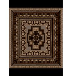 Motley geometric pattern for the original carpet vector