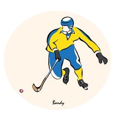 Bandy vector image