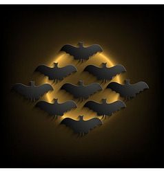 halloween background Eps10 vector image