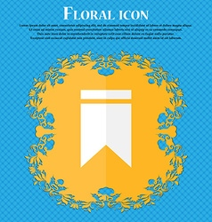 Web stickers tags and banners Sale icon Floral vector image vector image