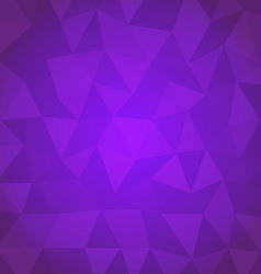 Abstract triangle with violet background vector