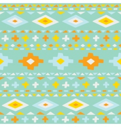 Cute ethno seamless pattern vector