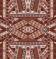 Ethnic patchwork design vector