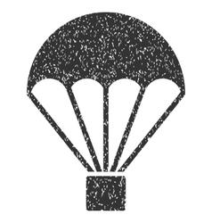 Parachute Grainy Texture Icon vector image
