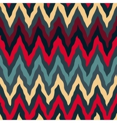 Seamless Red Tan Navy Blue Colors Rough vector