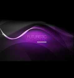 Smooth neon wave vector