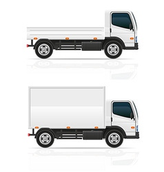 small truck 03 vector image vector image