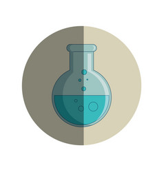 tube test glass isolated icon vector image