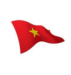 vietnam flag vector image