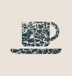Coffee or tea cup vector