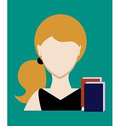 Profession people teacher Face male uniform vector image