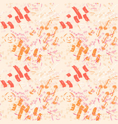 memphis abstract seamless pattern vector image