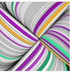 background with complicated ornament of threads vector image