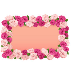 Flower Board vector image