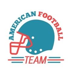 Football championship label vector