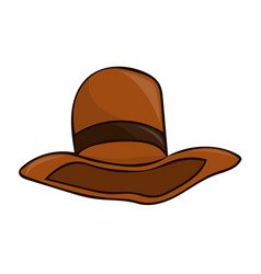 hat isolated vector image