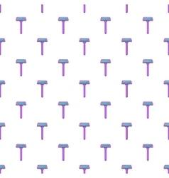 Razor pattern cartoon style vector