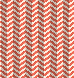 Seamless Retro Abstract Red Toothed Zig Zag Paper vector image