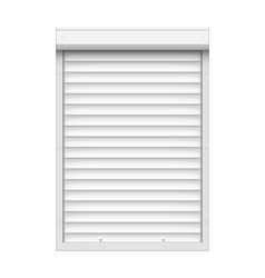 shutter roll door blind warehouse roller shop vector image