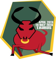 Taurus Dates vector