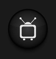 tv icon Eps10 Easy to edit vector image