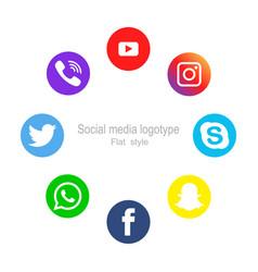 vinnytsia ukraine - december 14 2018 a social vector image