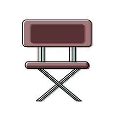 school chair vector image