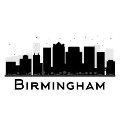 Birmingham silhouette vector image
