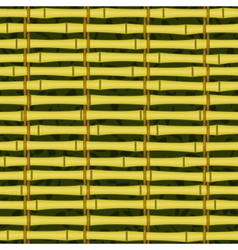 seamless bamboo jalousie vector image vector image