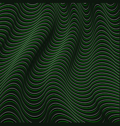 A black and green optical vector