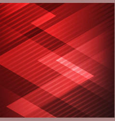 Abstract elegant geometric triangles red vector