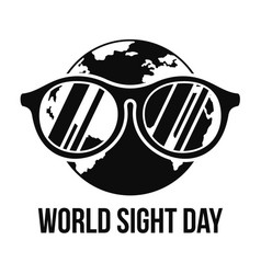Earth sight day concept background simple style vector