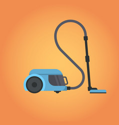 electric vacuum cleaner icon household equipment vector image