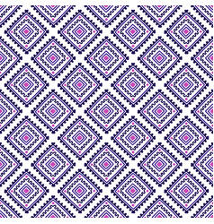 ethnic seamless pattern tribal line print in vector image