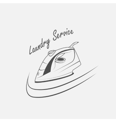 laundry service vector image