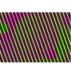 neon laser lines abstract optical vector image