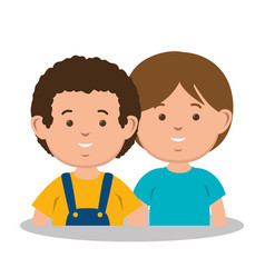 parent couple avatars characters vector image